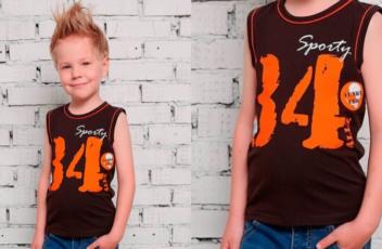 Майки для мальчиков оптом мода детки
