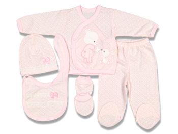 Комплект 5 пред. розового цвета 90650